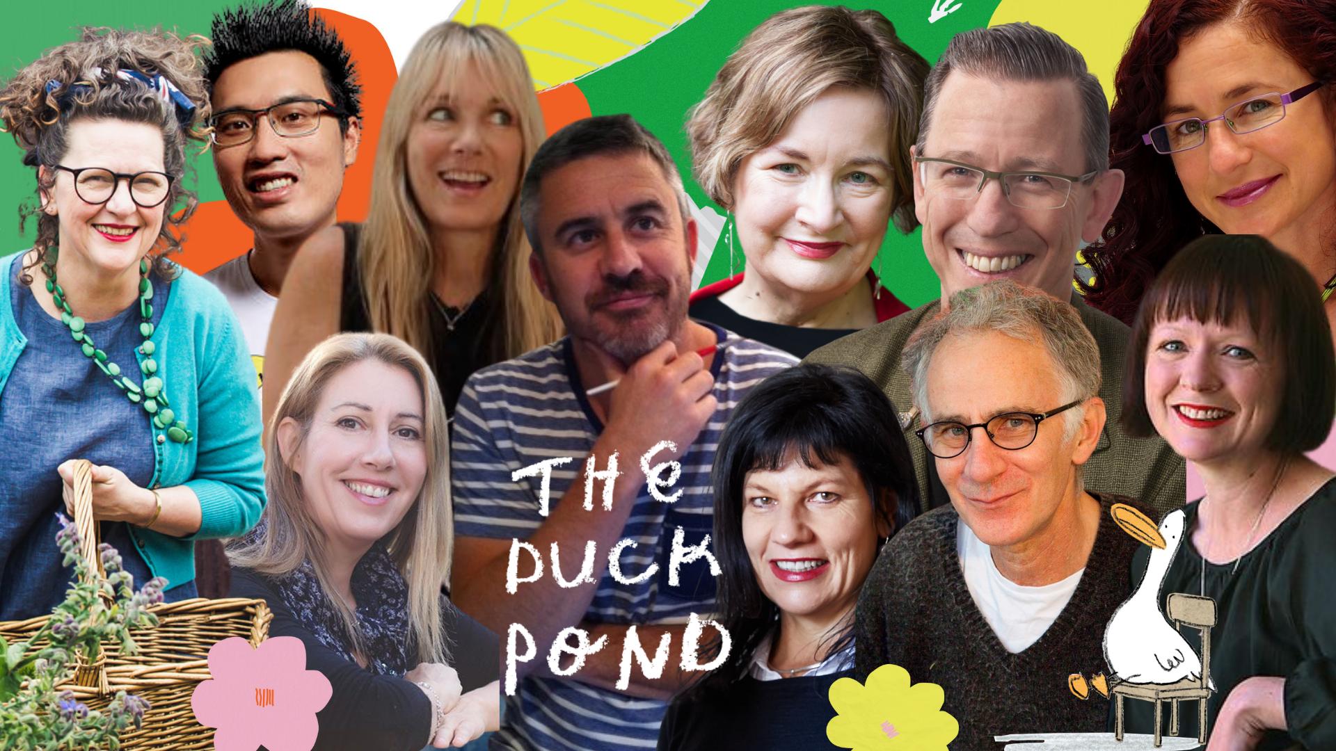 Duck Pond Masterclass Presenters 2021 (1)